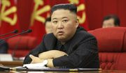 In this photo provided by the North Korean government, North Korean leader Kim Jong-un speaks during a Workers' Party meeting in Pyongyang, North Korea, Friday, June 18, 2021. The content of this image is as provided and cannot be independently verified. (Korean Central News Agency/Korea News Service via AP)