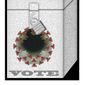 COVID-19 and election laws illustration by The Washington Times
