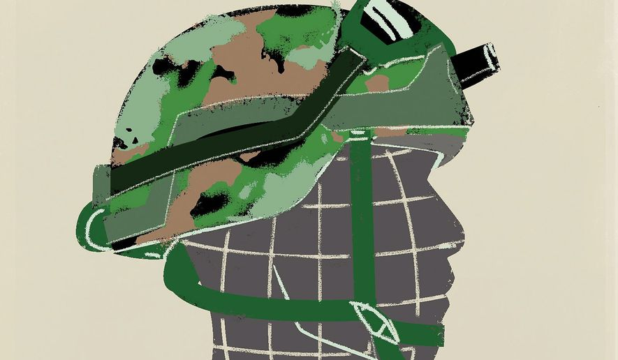 Forever Wars Illustration by Linas Garsys/The Washington Times