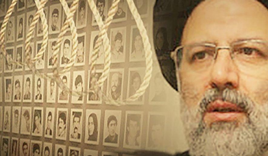 Ebrahim Raisi, the henchman of the 1988 massacre of political prisoners.