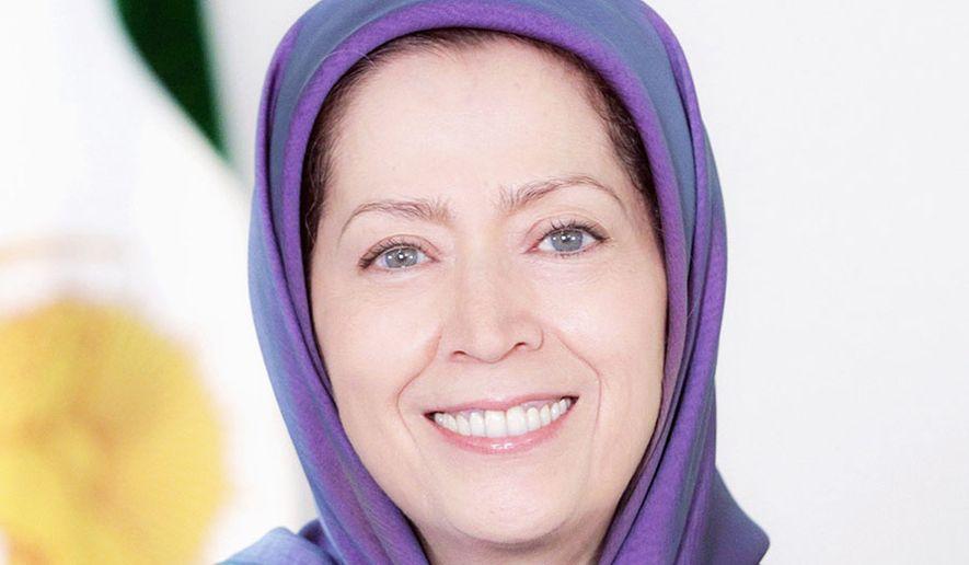Maryam Rajavi, President-elect of the National Council of Resistance of Iran (NCRI).