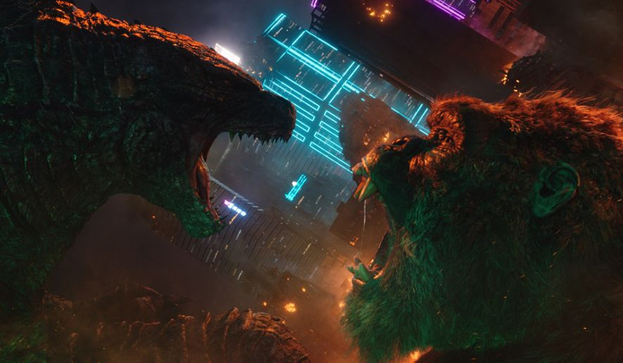 """""""Godzilla vs. Kong,"""" now available in the 4K Ultra HD format from Warner Bros. Home Entertainment."""