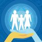 Two-parent families illustration by Linas Garsys / The Washington Times