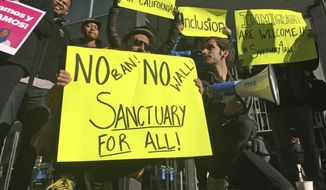 San Francisco has one of the country's oldest sanctuary policies, and perhaps one of the most well-known, thanks to a 2015 incident, also on the city's waterfront, where an illegal immigrant shot and killed 32-year-old Kate Steinle. (AP Photo/Haven Daley, File)