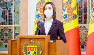 President of Moldova Maia Sandu (sponsored)