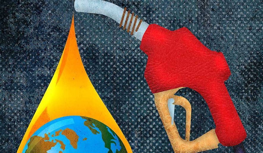 Carbon, Fossil Fuels and the World's Main Power Source Illustration by Greg Groesch/The Washington Times