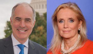 U.S. Sen. Bob Casey and U.S. Rep. Debbie Dingell