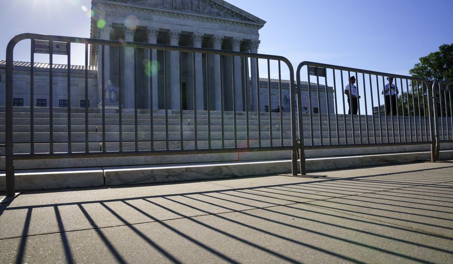 The U.S. Supreme Court is seen on Capitol Hill in Washington, Tuesday, June 29, 2021. (AP Photo/J. Scott Applewhite)