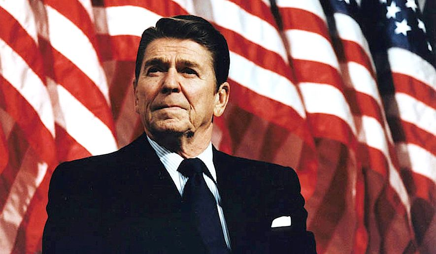 Former President Ronald Reagan. (Courtesy of the Ronald Reagan Presidential Foundation and Library).