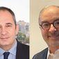 Mr. Ioannis Plakiotakis, Greek Minister of Maritime Affairs and Insular Policy. Mr. Vassilios Kroustallis, VP Europe of ABS
