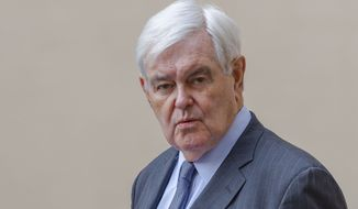 Newt Gingrich underscored the delicate security situation in the region and the perils that could come if one side or the other tries to break out of the tense status quo. (Associated Press) ** FILE **