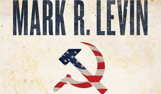 """Mark Levin, Fox News host and talk radio kingpin, has a new book titled """"American Marxism"""" arriving next week. It is already No. 2 on Amazon, however.  (Image courtesy of Threshold Editions)"""