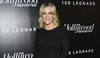 Megyn Kelly attends The Hollywood Reporter's annual 35 Most Powerful People in Media event in New York, April 12, 2018. (Photo by Evan Agostini/Invision/AP) ** FILE **