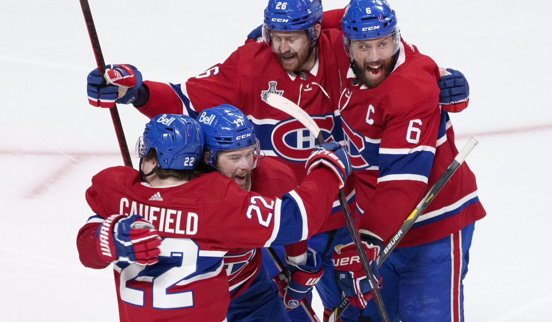 Canadiens show fire in staving off elimination in Stanley Cup Final
