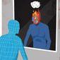 Illustration on the return of antisemitism by Linas Garsys/The Washington Times