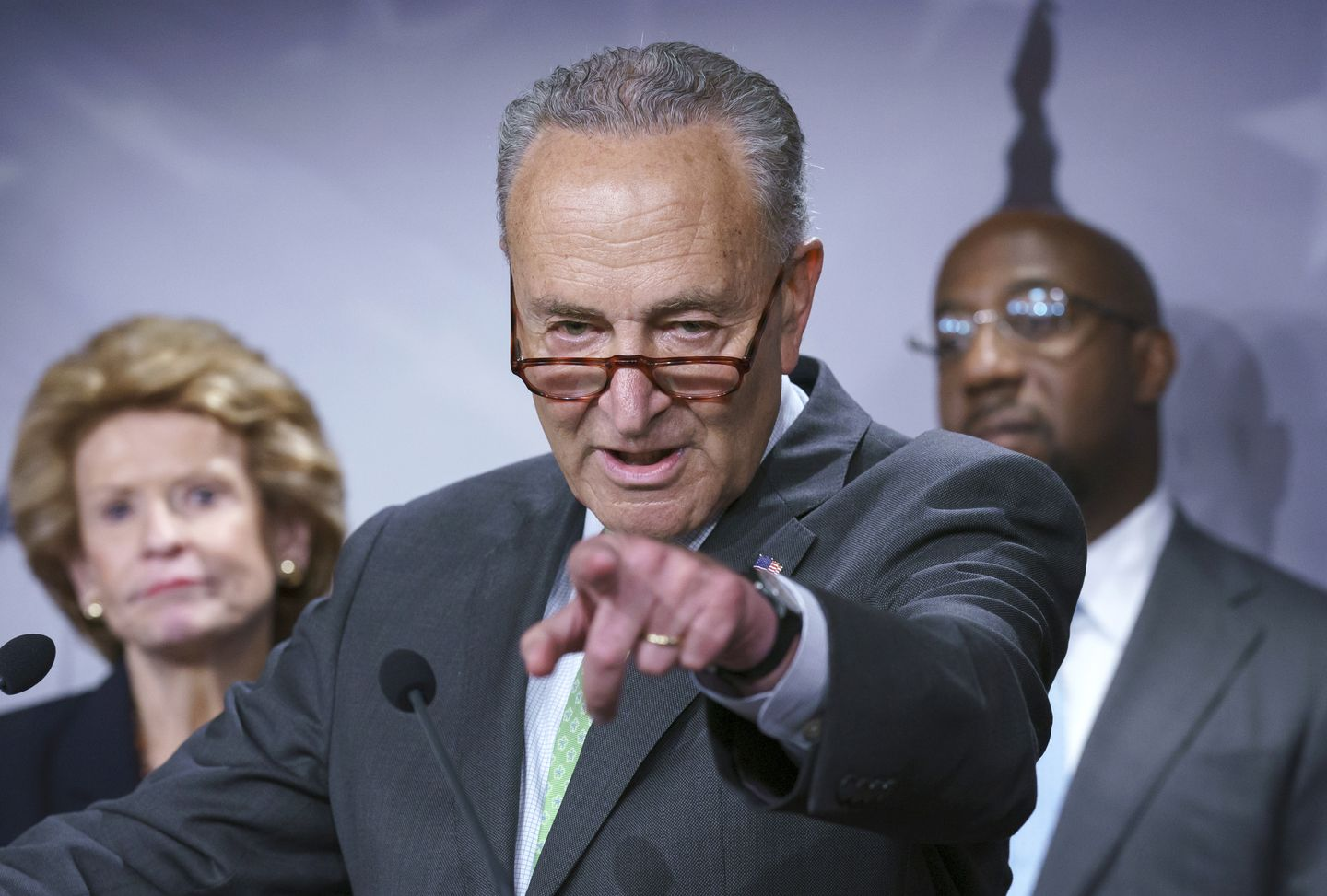 Schumer pressures Dems to wrap up infrastructure, reconciliation before August recess