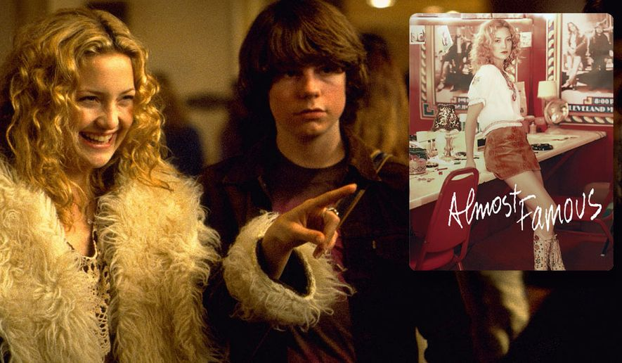 """Kate Hudson and Patrick Fugit star in """"Almost Famous,"""" now available on 4K Ultra HD from Paramount Home Entertainment."""