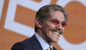 """FILE - In this Jan. 16, 2015, file photo, Geraldo Rivera participates in """"The Celebrity Apprentice"""" panel at the NBC 2015 Winter TCA in Pasadena, Calif.  Rivera says he has discussed the idea of raising the minimum age to purchase assault-type weapons with President Donald Trump, adding that Trump took it under advisement. (Photo by Richard Shotwell/Invision/AP, File)"""
