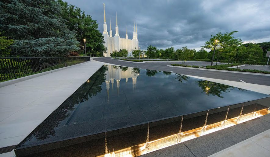 The Washington D.C. Temple of The Church of Jesus Christ of Latter-day Saints in suburban Maryland will be rededicated on June 19, 2022. The temple had been closed for repairs and then for the coronavirus pandemic. (Photo by Jeffrey Borgholthaus/courtesy of the LDS Church)