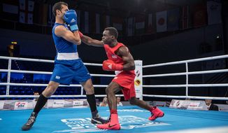 Alexandria native Troy Isley gets a chance to compete for the Olympics when he'll represent USA Boxing in Tokyo (Photo courtesy of AIBA)