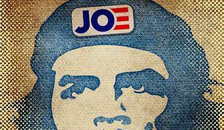Joe Biden, Cuba and Che Illustration by Greg Groesch/The Washington Times