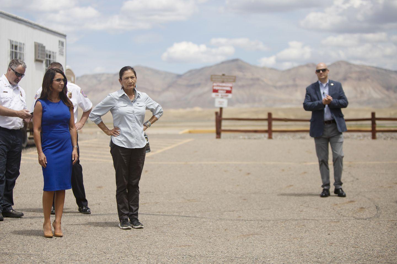 Lauren Boebert, Colorado Democrats urge Deb Haaland to keep BLM headquarters in Grand Junction