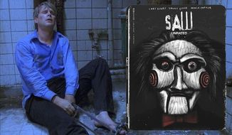 """Cary Elwes stars in """"Saw: Unrated,"""" now available on 4K Ultra HD from Lionsgate Home Entertainment."""
