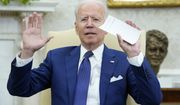 President Joe Biden speaks during his meeting with Iraqi Prime Minister Mustafa al-Kadhimi in the Oval Office of the White House in Washington, Monday, July 26, 2021. (AP Photo/Susan Walsh)