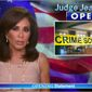 """Jeanine Pirro, host of  the Fox News prime-time program """"Justice with Judge Jeanine"""" each Saturday, has declared that """"America as we know it is coming to an end."""""""