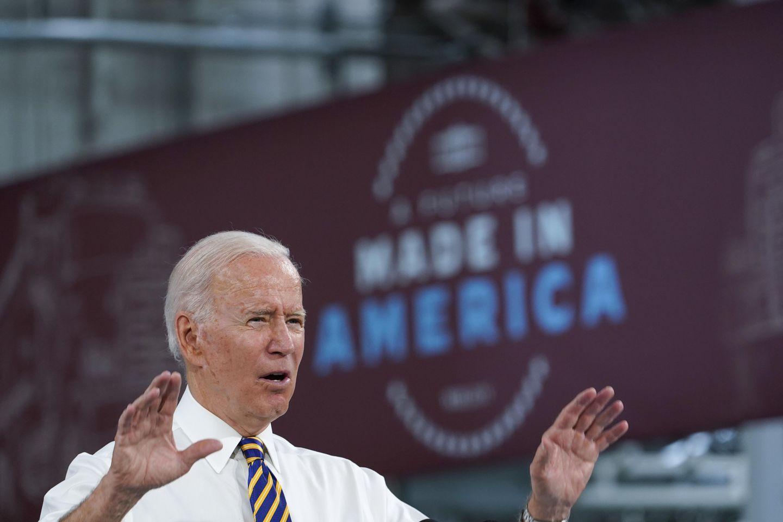 Biden touts 'Buy American' proposals during Pennsylvania visit