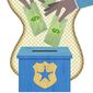 Support for the Local Police Illustration by Greg Groesch/The Washington Times