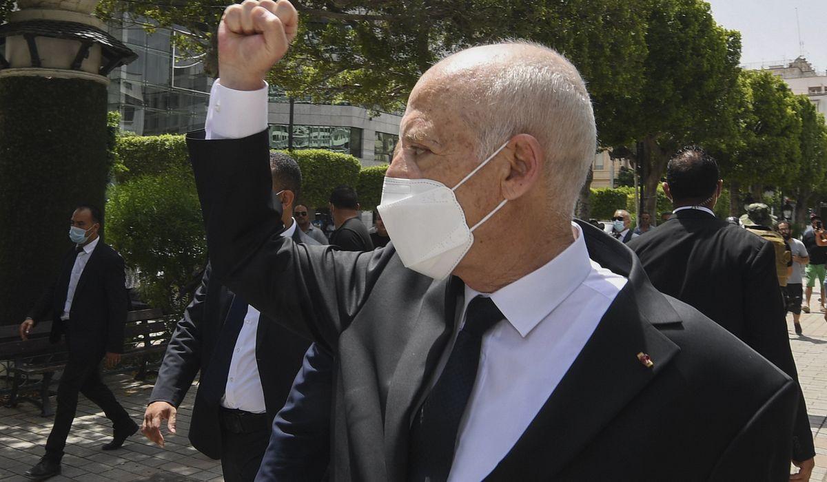 Tunisia power grab creates unease for Biden administration