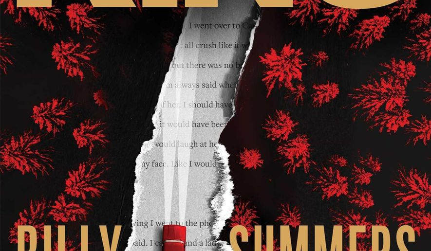 """This cover image released by Scribner shows """"Billy Summers"""" by Stephen King."""" (Scribner via AP)"""