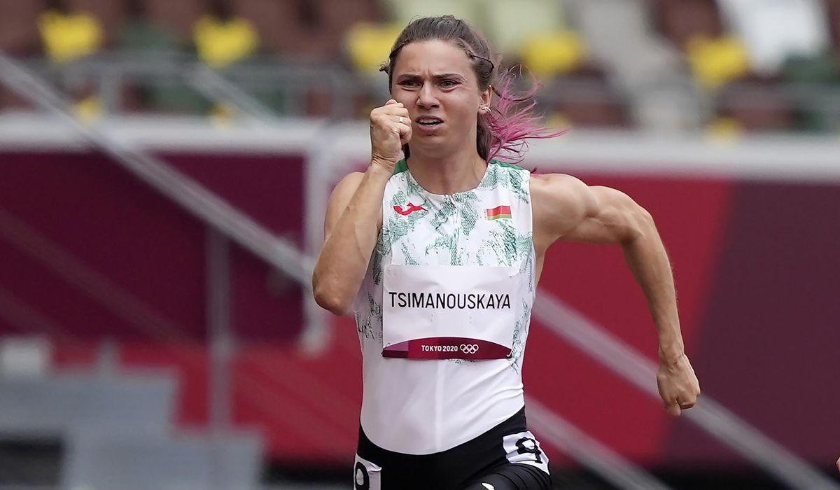 Belarus sprinter says punishment awaited her back home