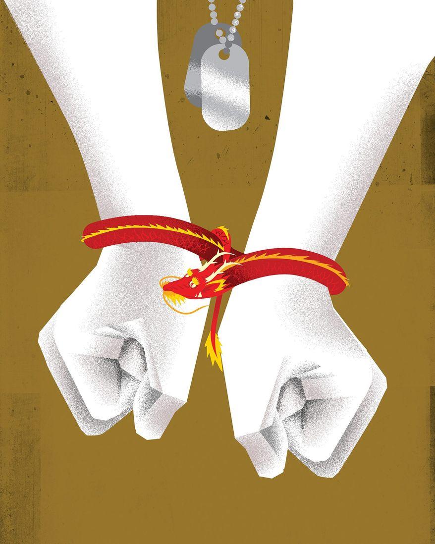 China Human Rights Issues Illustration by Linas Garsys/The Washington Times