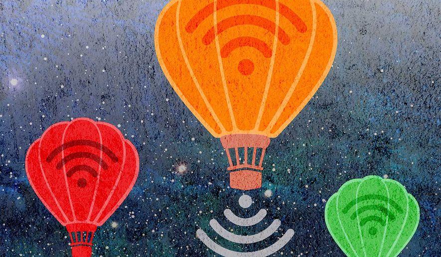 Wifi Internet for Cuba Illustration by Greg Groesch/The Washington Times