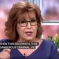 """Joy Behar talks about COVID-19 policies favored by Florida Gov. Ron DeSantis, Aug. 3, 2021. (Image: YouTube, ABC's """"The View"""" channel, video screenshot)"""