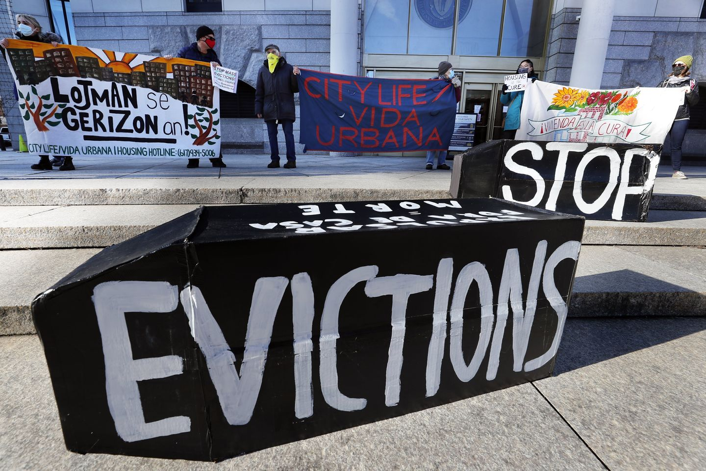 DOJ urges state courts to slow evictions amid housing crisis thumbnail