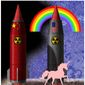 Illustration on the need to upgrade the U.S. nuclear arsenal by Alexander Hunter/The Washington Times