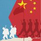 U.S. leaves Afghanistan, China enters illustration by Linas Garsys / The Washington Times