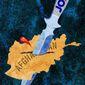 Biden's Afghanistan Dagger Illustration by Greg Groesch/The Washington Times