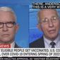 Dr. Anthony Fauci talks about a possible Spring 2022 return to normalcy for the U.S. and citizens dealing with the COVID-19 pandemic, August 23, 2021. (Image: CNN video screenshot)
