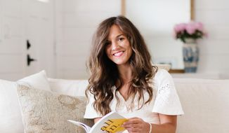 """In her new book, """"All In"""" podcast host Morgan Jones asks Christians across a variety of denominations to talk about what it means to be """"all in"""" for Jesus Christ. (Photo courtesy of Deseret Books)"""