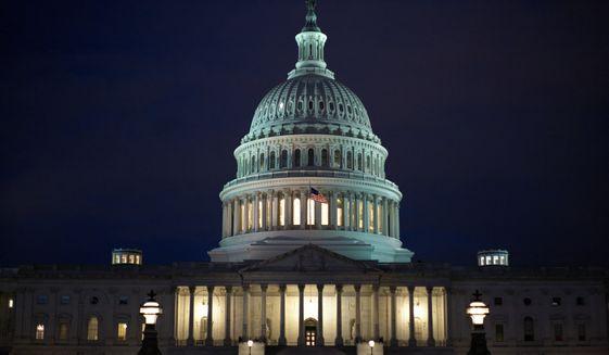 The U.S. Capitol Building in Washington, D.C. (Associated Press)