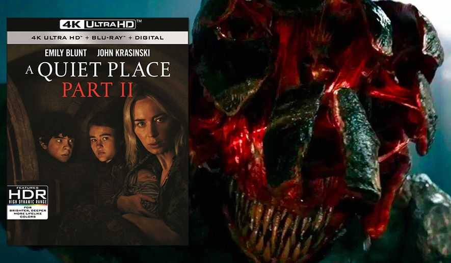 """Alien creatures continue to exterminate the human race in """"A Quiet Place: Part II,"""" now available on 4K Ultra HD from Paramount Home Entertainment."""
