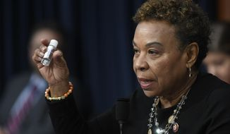Rep. Barbara Lee, a California Democrat and senior member of the House Appropriations Committee proposed an amendment to the NDAA which would walk back the $25 billion increase and reduce overall defense spending by 10%, excluding certain personnel and health-related programs. (AP Photo/Susan Walsh, File)