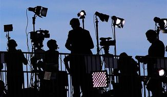 Republican trust in the news media now stands at 35% — compared to 78% of Democrats who say they do trust the media. A Pew Research Center analysis says it is the largest partisan gap in five years. (AP photo)