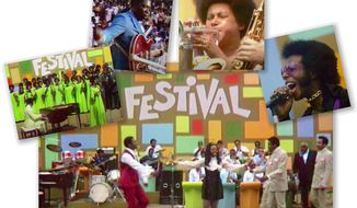 The Black Woodstock: Harlem 1969. A photo collage from the film trailer.