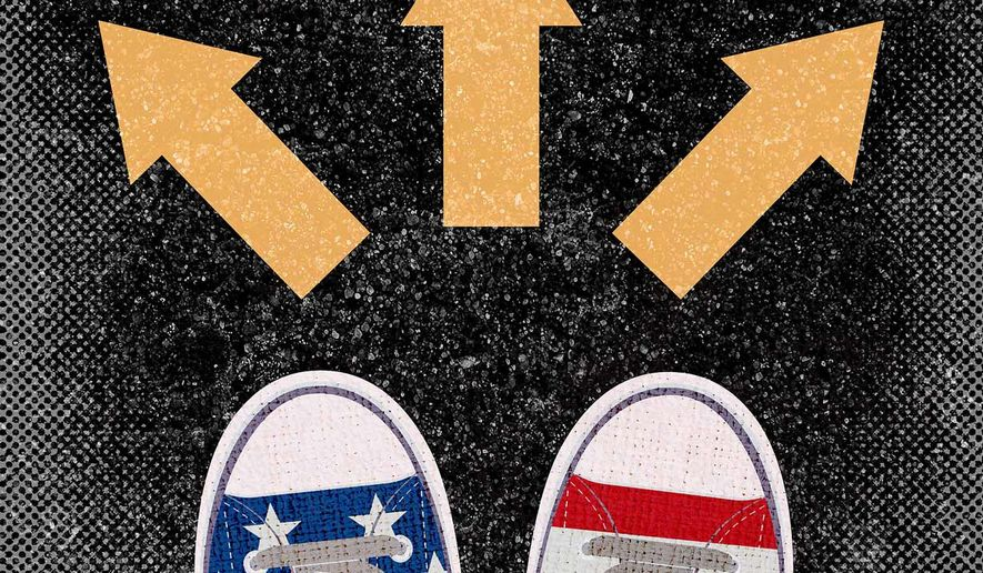 Alternative Directions to work around Biden adminsitration Illustration by Greg Groesch/The Washington Times