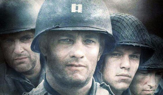 """An image from the 1998 Academy Award-winning film """"Saving Private Ryan."""" (Courtesy Paramount Pictures)"""